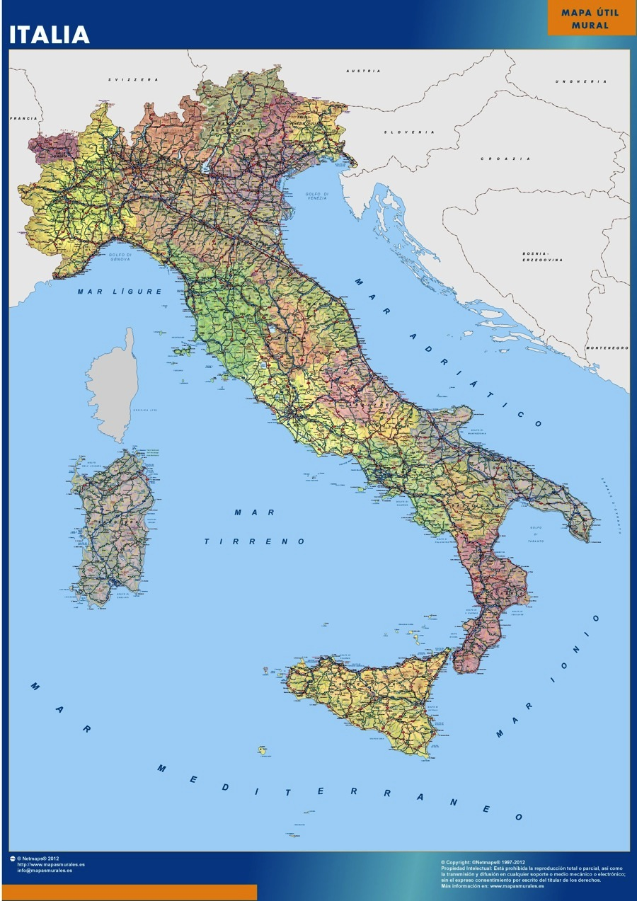 Map Of The World Italy.Italy Map