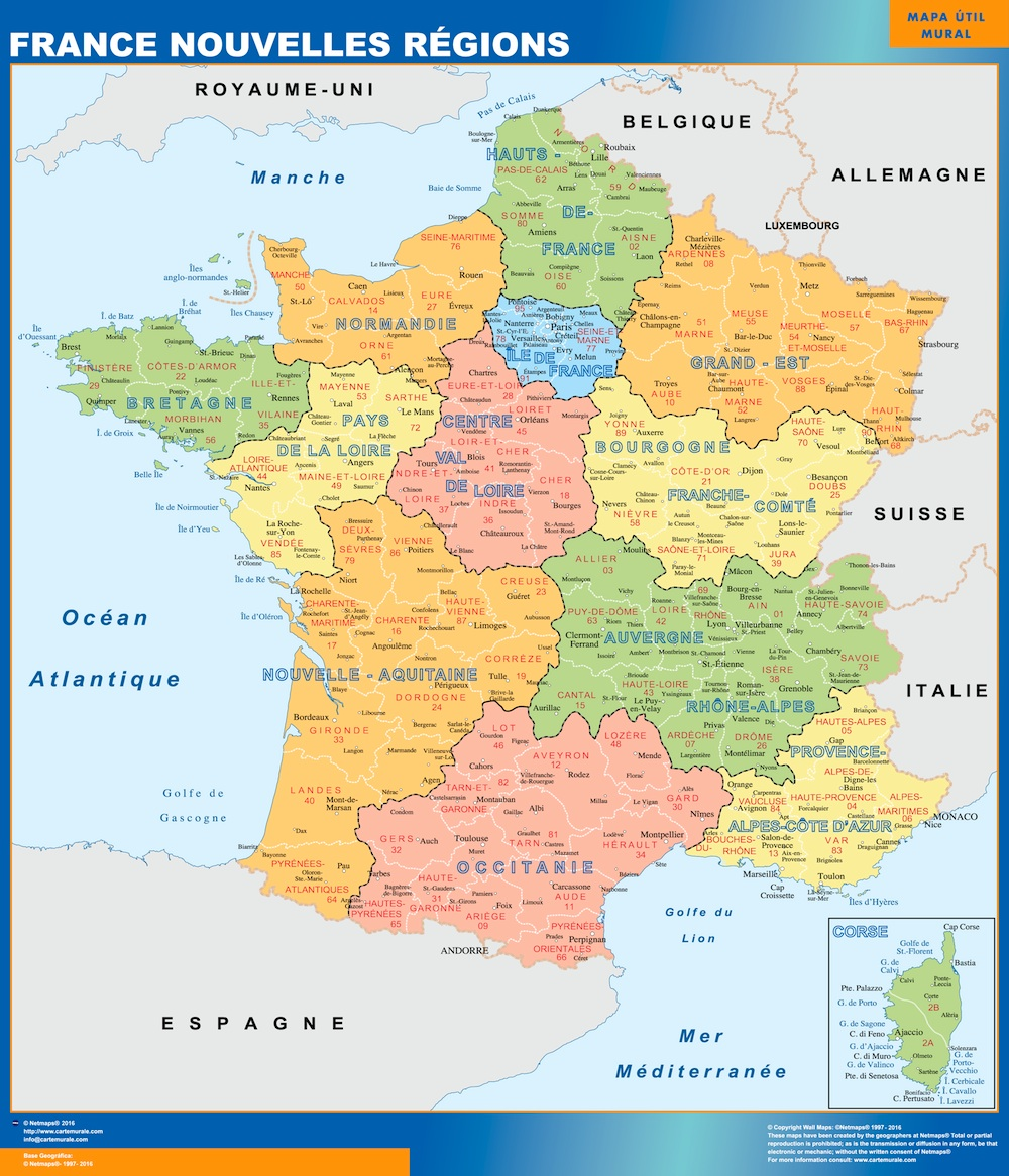 Map Of France New Regions.Map Of France New Regions